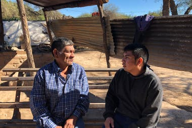 Omar was born on an adobe ranch, between the land and the river