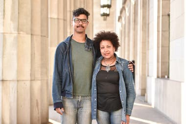Miriam Gomes and Alí Delgado integrate two generations with a commitment: make visible that Argentina is also black