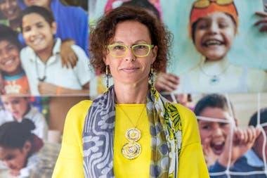 Luisa Brumana is the representative of Unicef in Argentina