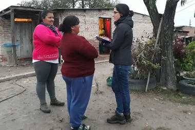 In CIPPEC they also carry out research in different locations in northern Santa Fe