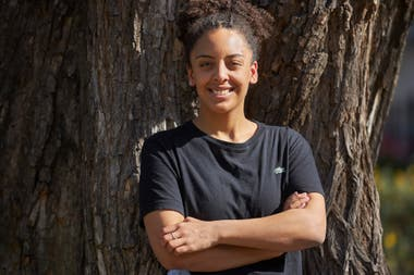 Jennifer Parker, an afro activist with a strong network base