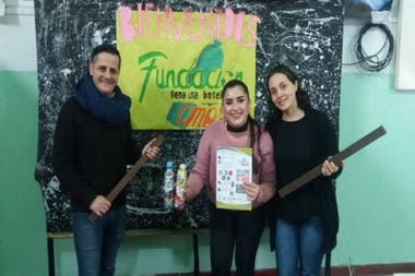 The Foundation Fill a Bottle of Love works in synergy with the company Econciencia Argentina.