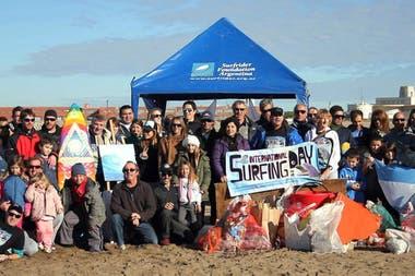 Surfrider Foundation Argentina promotes the preservation of
