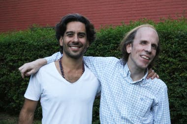 Jorge Vega, founder of Lumen Cor and Georgie Etcheverry have been friends for 12 years.