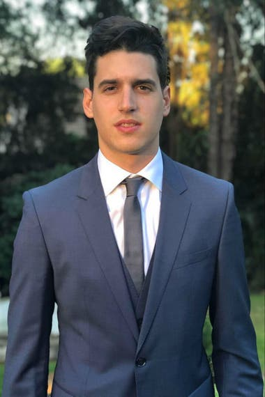 Fulvio, 26, from Cordoba, is the youngest of the five Argentines in the Harvard MBA Class 2021