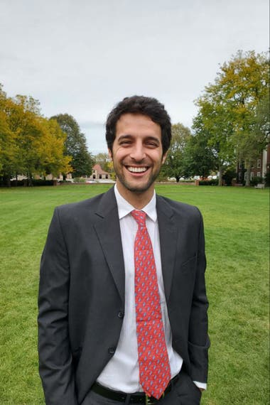 Yago, 30, is another of the five Argentines who are doing the MBA in HBS