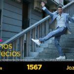 Anuncio JAZZTEL - Jesús Vázquez baja 1 escalera a lo Joker