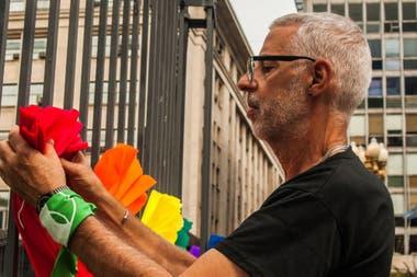 Presidente de la CHA desde 1996 hasta su repentina muerte durante el día de ayer, César Cigliutti fue un defensor de los derechos LGTBQ; en su última entrevista con LA NACION habló sobre los desafíos de una sociedad en la que, más allá de los avances, muchos prejuicios siguen vigentes