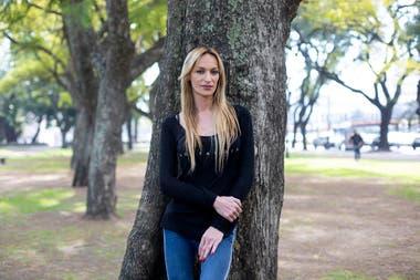 Maryanne Lettieri, actriz, profesora del Bachillerato Popular Trans Mocha Celis y responsable del área de inserción laboral de la institución.