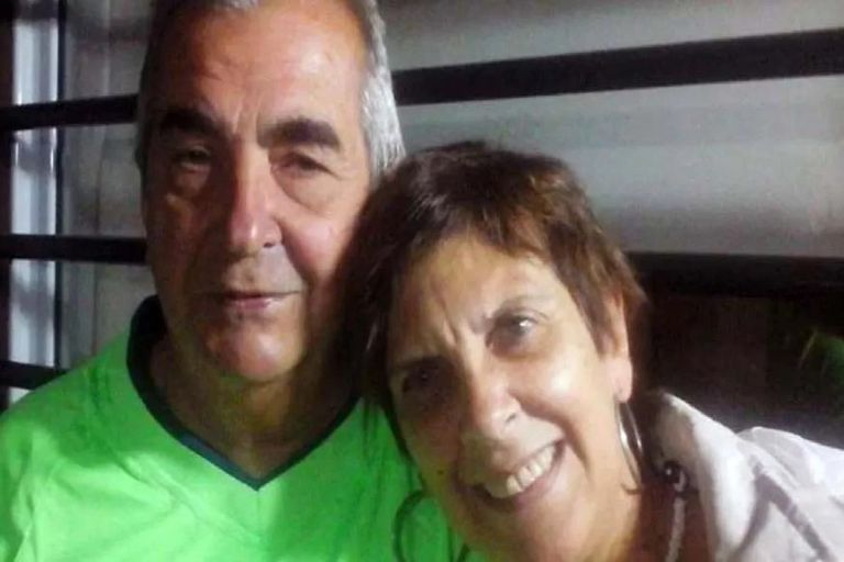 Alberto Chirico and María Speranza, the victims of an agent who executed them in Parque Avellaneda