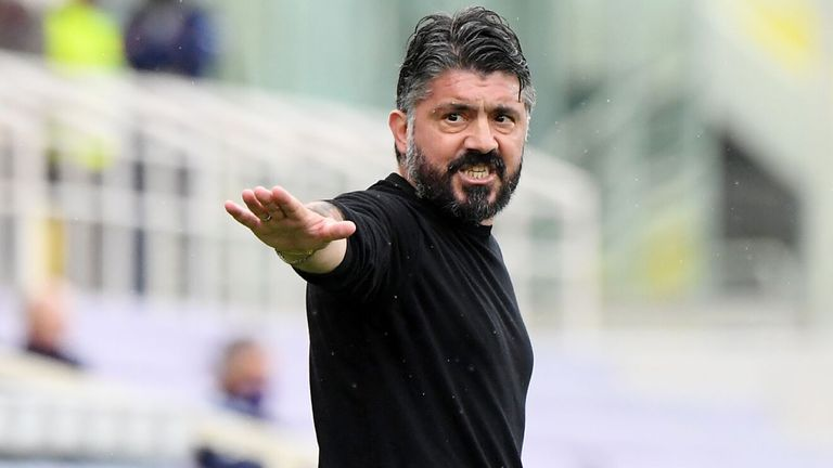 Gattuso changed Naples for Florence