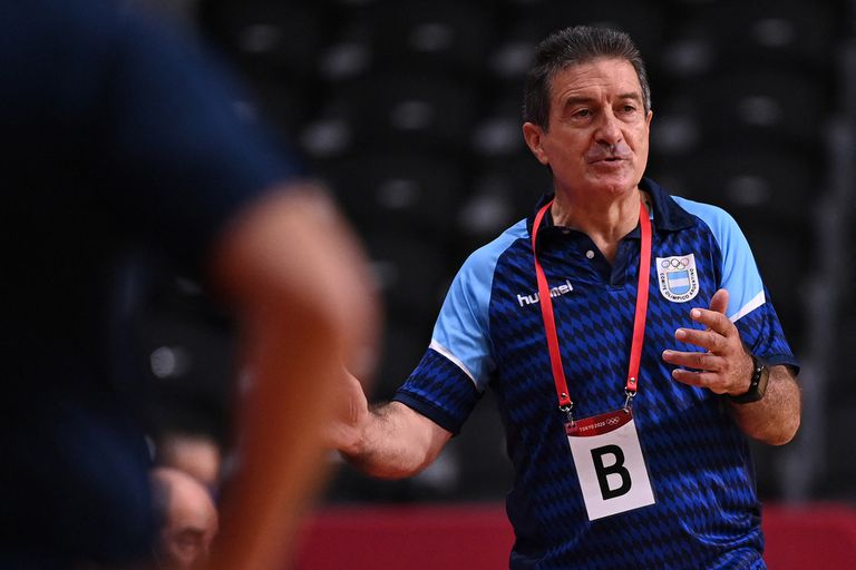 Manuel Cadenas, el entrenador español de la selección argentina de handball