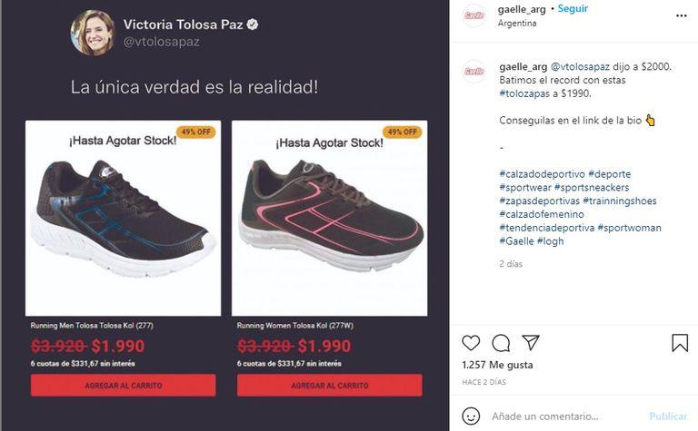 Tolosa Paz Shoes